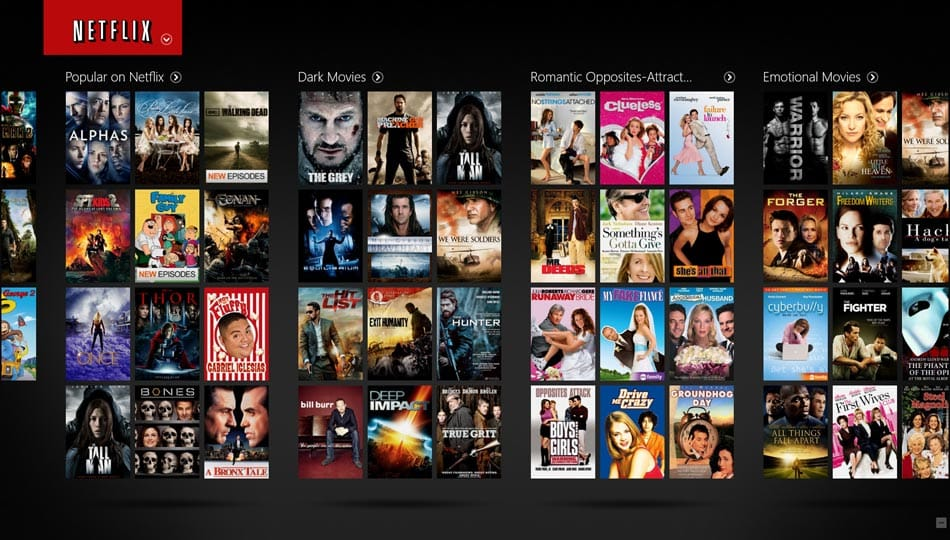 Netflix-screen-browse