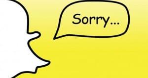 Snapchat problems?
