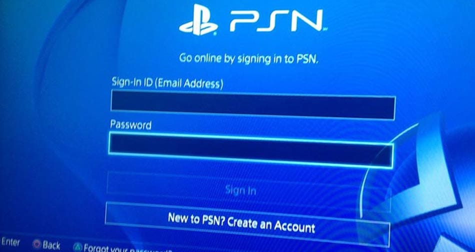 PSN-sign-in