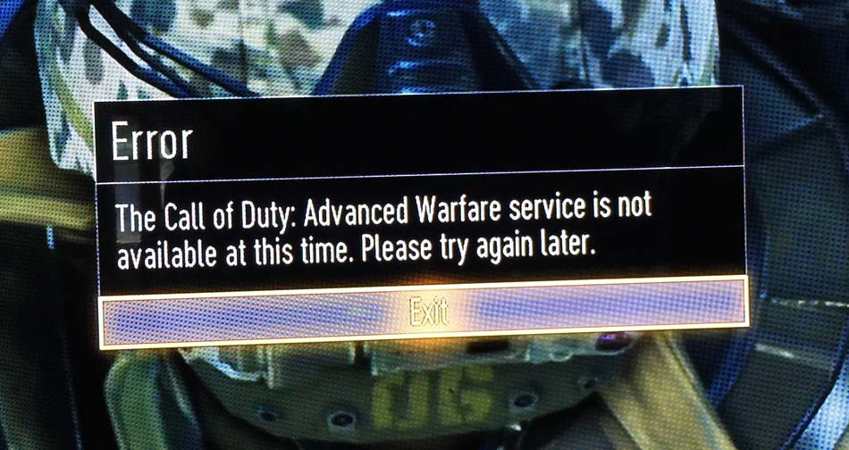 COD-Advanced-Warfare-service-not-available-at-this-time