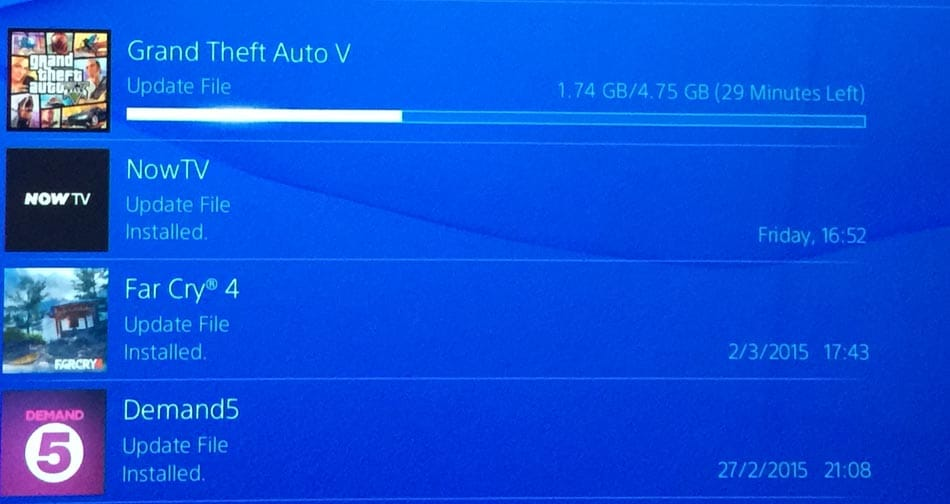 gta 5 1 07 update with slow ps4 issues down today