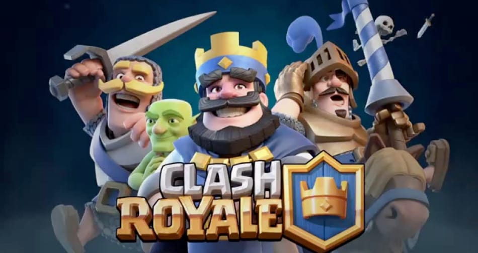 open play store and download clash royale