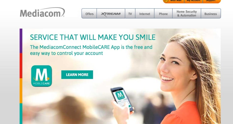 Mediacom TV, Internet and Email Outage | Down Today